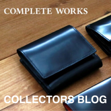 COLLECTORS items 紹介  ~コンパクト折り財布編~ 『COMPLETE WORKS』   ٩(๑> ₃ <)۶♥