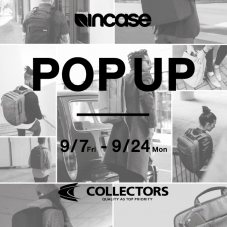 incase POP UP 開催!!!