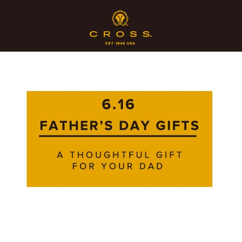 CROSS FATHER'S DAY GIFTS